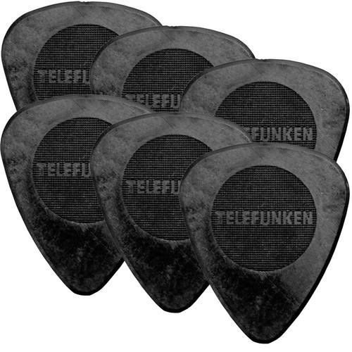 Telefunken Circle Grip .75mm Delrin Guitar Picks .75MM CIRCLE