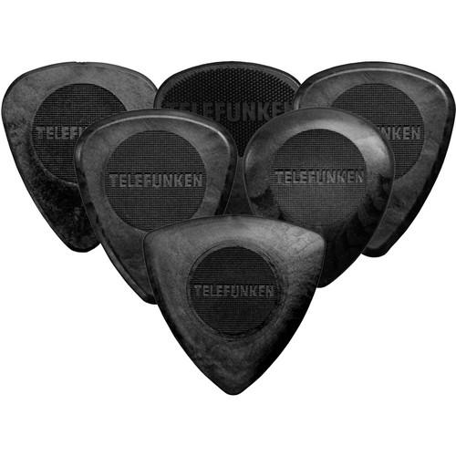Telefunken Delrin Pick Variety Pack (6-Pack) MIX PACK