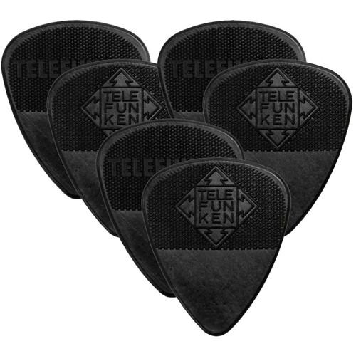 Telefunken Diamond Grip 1mm Delrin Guitar Picks 1MM DIAMOND