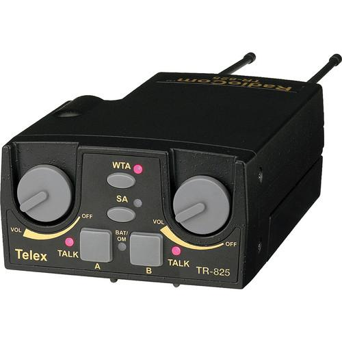Telex TR-825 2-Channel Binaural UHF Transceiver F.01U.145.996