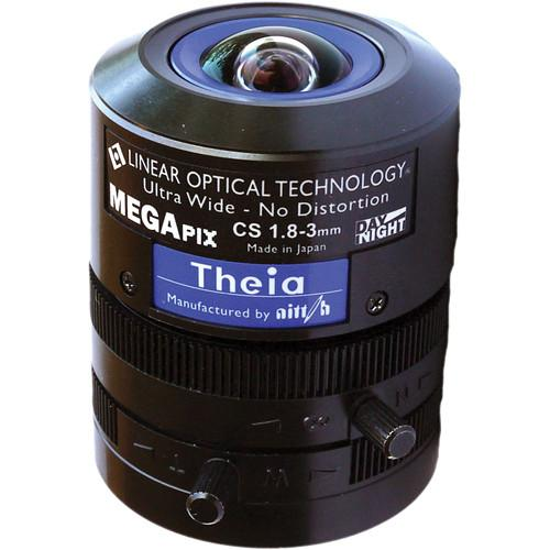 Theia Technologies CS-Mount 1.8 to 3mm Varifocal Manual SL183M