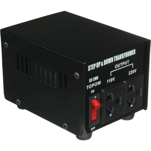 TOPOW ST-200 Step Up / Down Transformer (200W) ST200