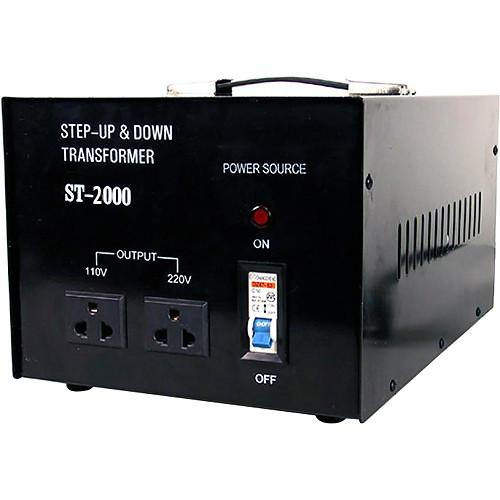 TOPOW ST-2000 Step Up / Down Transformer (2000W) ST2000