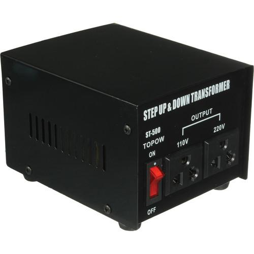 TOPOW ST-500 Step Up / Down Transformer (500W) ST500