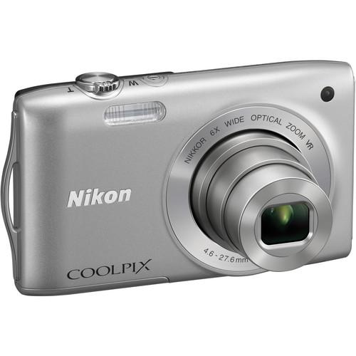 Used Nikon Coolpix S3300 Digital Camera (Silver) 26309B