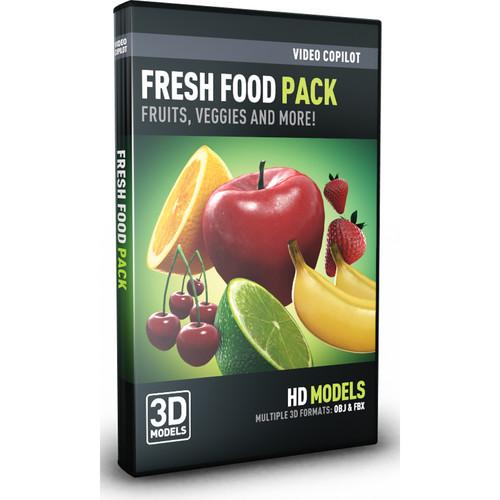 Video Copilot  Fresh Food Pack FRESHFOOD