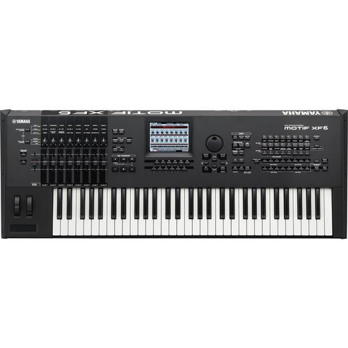 Yamaha  MOTIF XF6 Workstation Keyboard MOTIFXF6