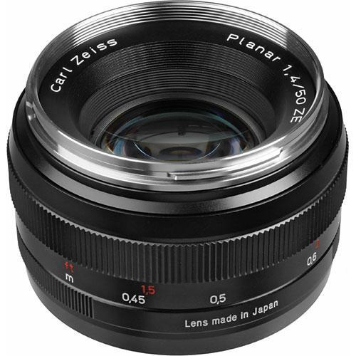 Zeiss Normal 50mm f/1.4 ZE Planar T* Manual Focus Lens