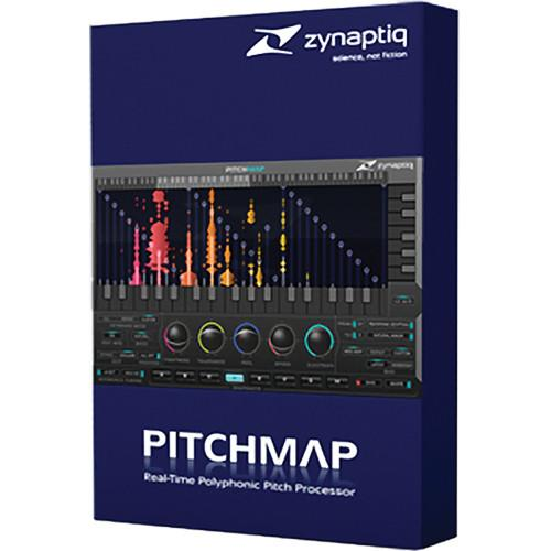 Zynaptiq Pitchmap 1.5 Real Time Polyphonic Pitch ZYN-PM1
