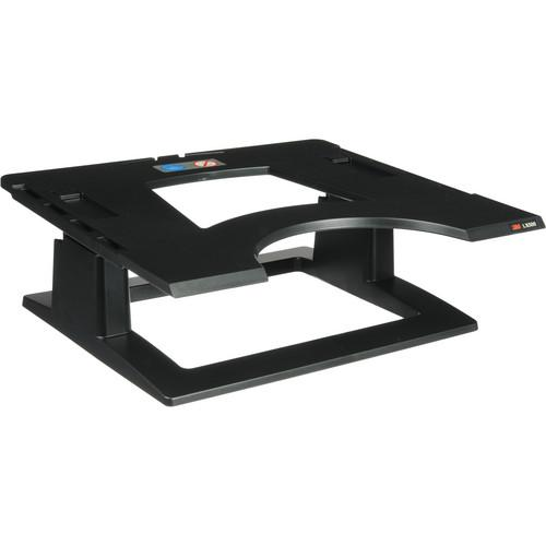 3M  LX500 Adjustable Notebook Riser (Black) LX500