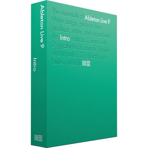 Ableton Live 9 Intro - Music Production Software 85726