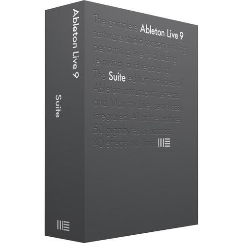 Ableton Live 9 Suite - Music Production Software (Boxed) 85624