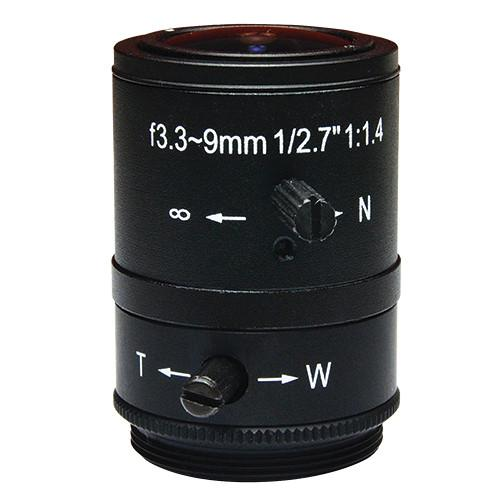 ACTi CS Mount PLEN-0131 3.3-9mm F1.4 Lens PLEN-0131