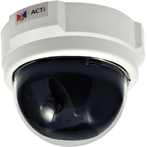 ACTi D51 1MP PoE Indoor Dome Camera with Fixed Lens D51