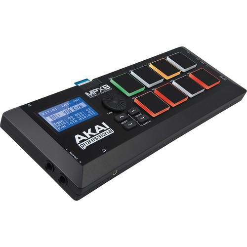 Akai Professional MPX8 SD Sample Pad Controller MPX8