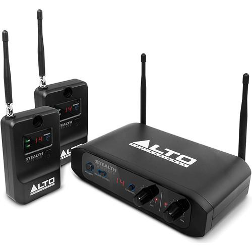 Alto Stealth Wireless Stereo System for Active STEALTH WIRELESS