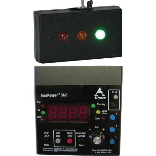 alzatex ALZM02A Presentation TimeKeeper System with LED ALZM02A