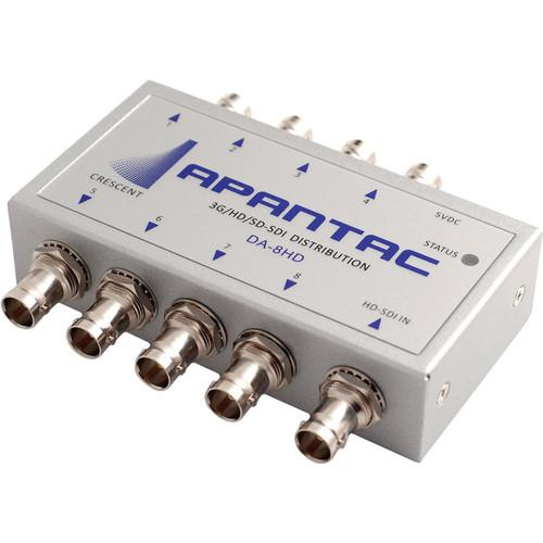 Apantac 3G-SDI 1x8 Re-Clocking Distribution Amplifier DA-8HD