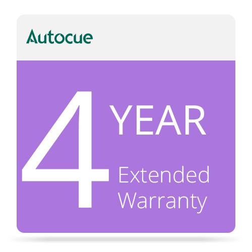 Autocue/QTV 4-Year Extended Warranty MON-MSP12/WARRANTY