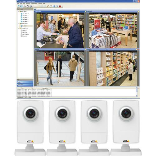 Axis Communications M1014 Network Camera (4-pack) 0520-044
