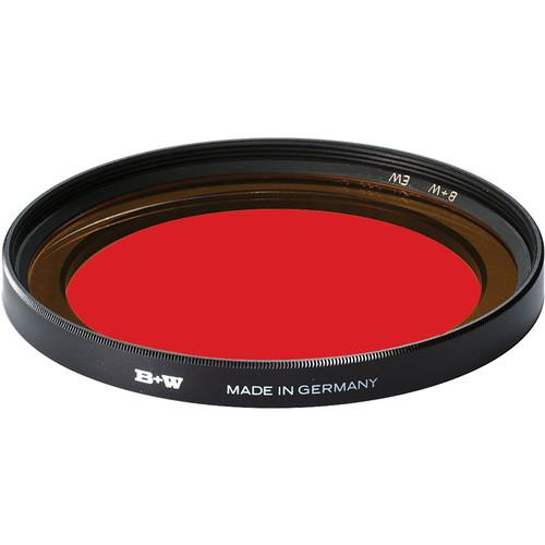 B W 105mm Extra Wide Light Red 090 Glass Filter 66-1070818