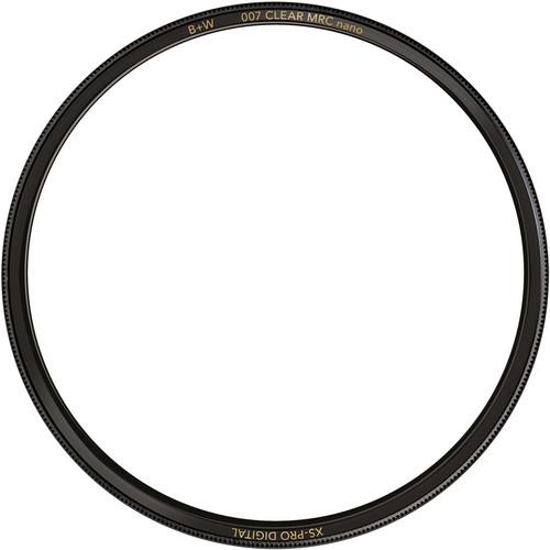 B W 37mm XS-Pro Clear MRC-Nano 007 Filter 66-1073870