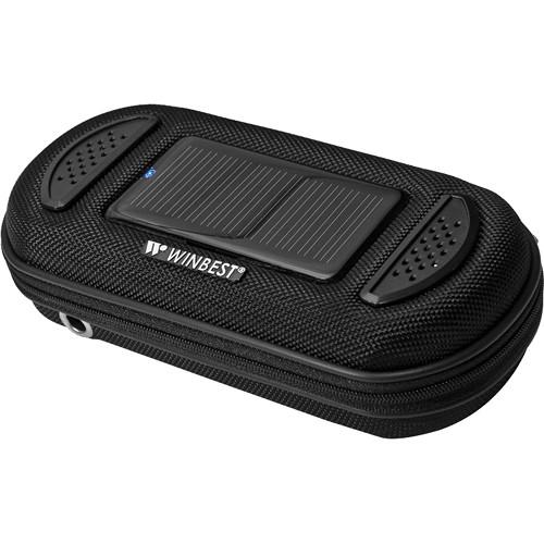 Barska Portable Solar Charger Case with Speaker BK11908