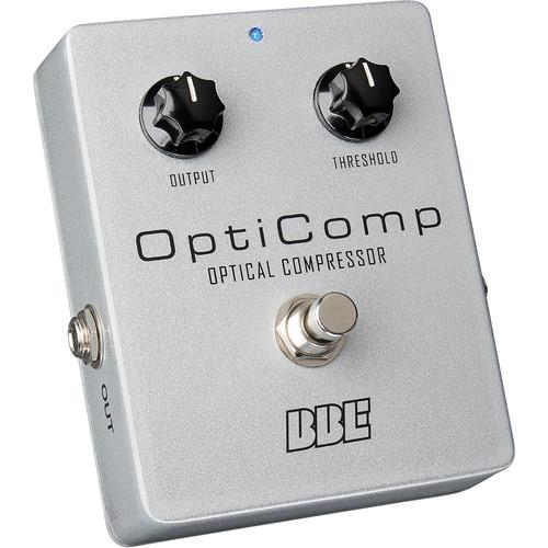 BBE Sound OptiComp OC-5 Stompbox for Pedalboards OPTICOMP