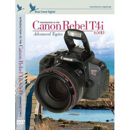 Blue Crane Digital Training DVD: Introduction to the Canon BC149