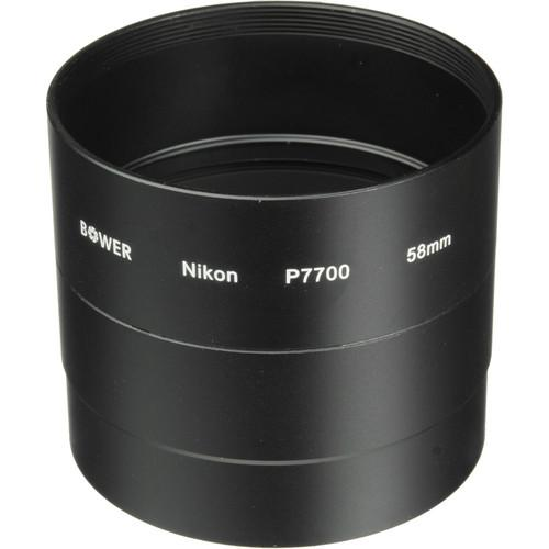 Bower 58mm Adapter Tube for Nikon COOLPIX P7700 Digital ANP7700