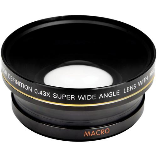 Bower 72mm 0.43x Super Wide Angle Conversion Lens VBL4372