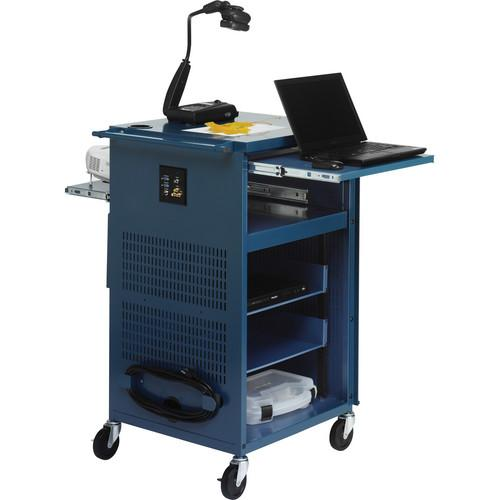 Bretford PAL Multimedia Presentation Cart (Topaz) TCP23-TZ