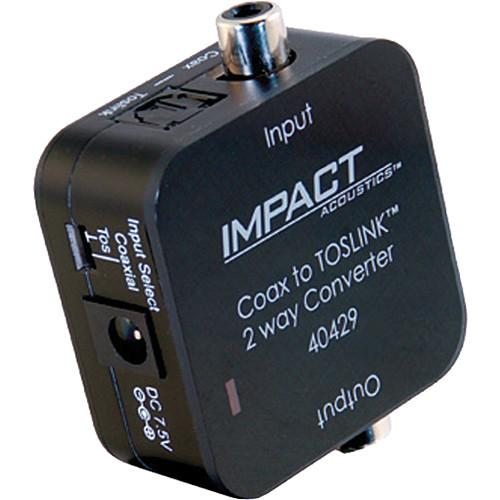 C2G Dual Output Digital Audio Adapter (Black) 40429