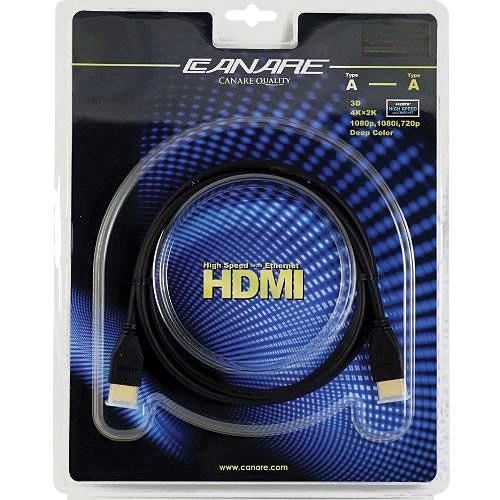 Canare 3' HDMI Cable with Ethernet Channel HDM009ED