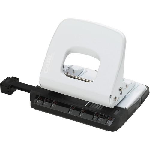 Carl ALYSIS 2-Hole, 18 Sheet Paper Punch (White) CUI62020