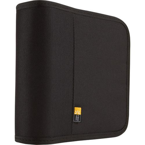 Case Logic 24-Disc Nylon CD / DVD Binder (Black) BNB-24