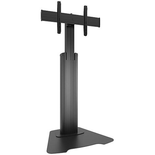 Chief Large FUSION Manual Height-Adjustable Floor Stand LFAUB
