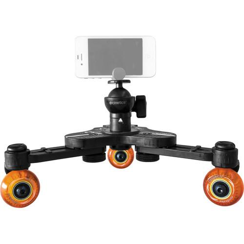Cinetics miniSkates Pro Phone / Small Camera Dolly & Joby