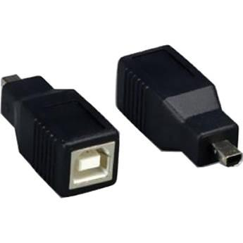 Comprehensive USB Type-B Female to USB Mini-B 4-Pin USBBF-MB4M