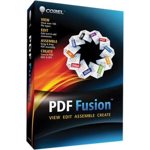 Corel  PDF Fusion for Windows CPDFF1ENMB