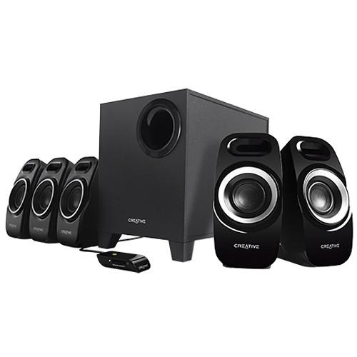 Creative Labs Inspire T6300 5.1 Speaker System 51MF4115AA002