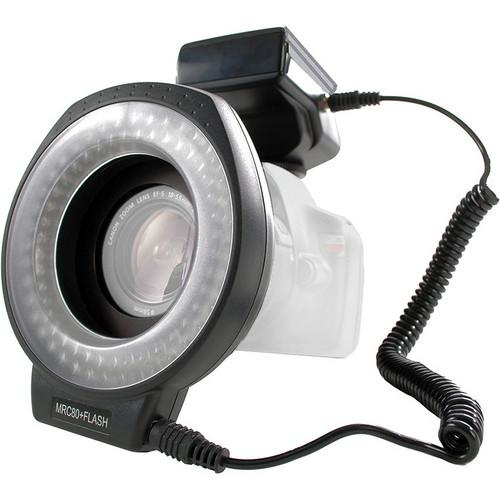 Dot Line 80 LED Hybrid Ringlight and Flash DL-RLF80