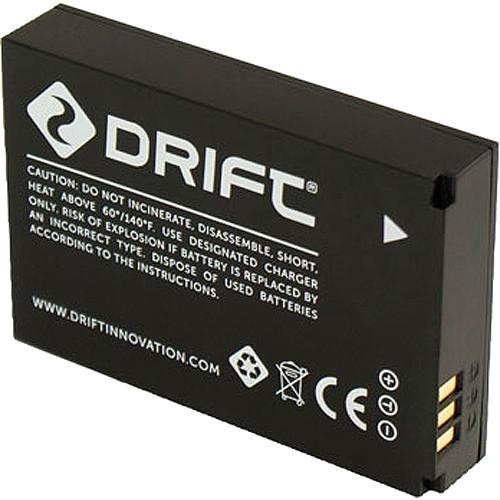 Drift Battery for HD Ghost and Ghost S Action Cameras 72-011-00