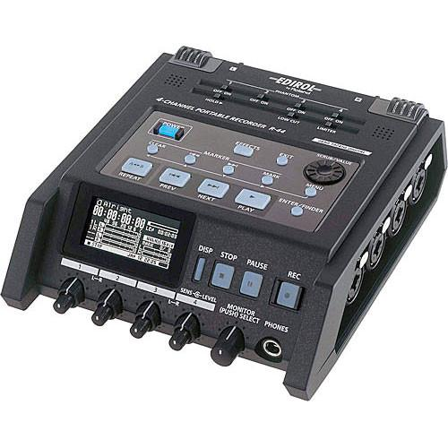 Edirol / Roland R-44 Solid-State SD Card Recorder Kit