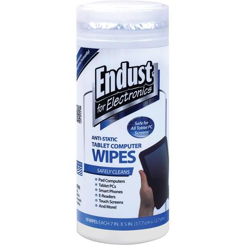 Endust Anti-Static Tablet Computer Wipes (70 Count) 12596