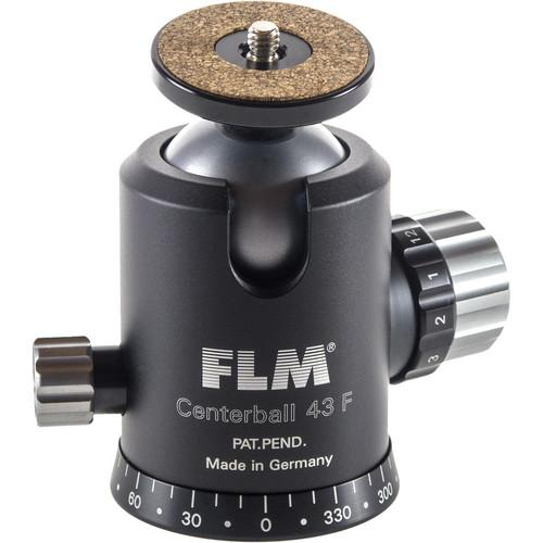 FLM CB-43F Ball Head with Mounting Platform 12 43 901