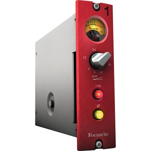 Focusrite Red 1 500 Series Mic Pre (500 Series Module) RED-1-500