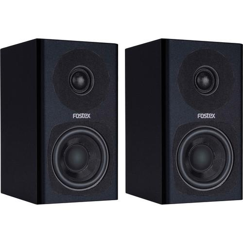 Fostex PM0.3 2-Way Powered Monitor Speaker System (Black) PM0.3B