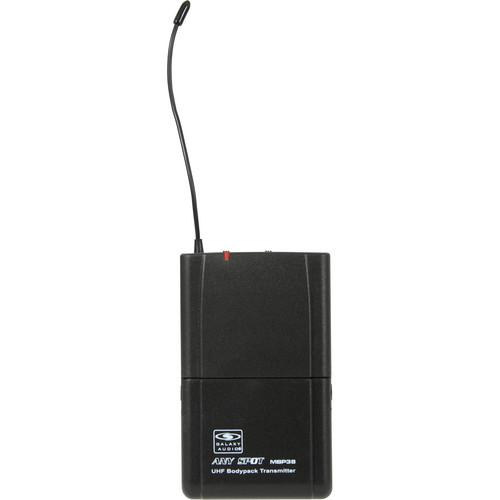 Galaxy Audio MBP38 Bodypack UHF Transmitter MBP38 D