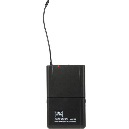 Galaxy Audio MBP38 Bodypack UHF Transmitter MBP38 L